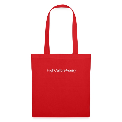 High Calibre Poetry Bag - Tote Bag