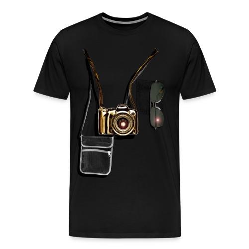 'Professional Tourist' - Premium Male T-shirt - Men's Premium T-Shirt