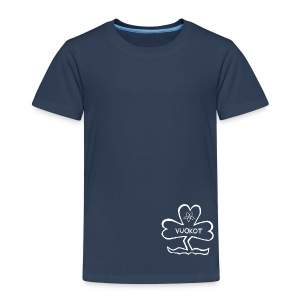 Logopaita LASTEN sininen - Lasten premium t-paita