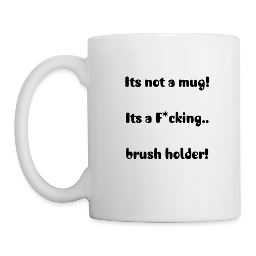 Mug - For all makeup lovers! Store your brushes or drink your coco!