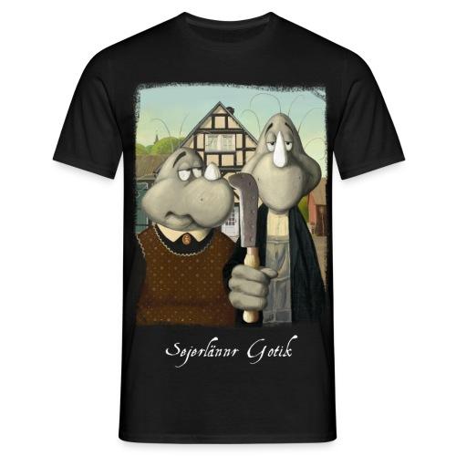 Sejerlännr Gotik - Männer T-Shirt