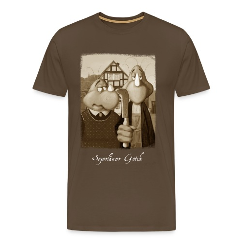 Sejerlännr Gotik - Männer Premium T-Shirt