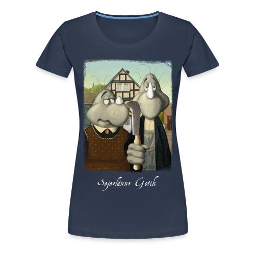 Sejerlännr Gotik - Frauen Premium T-Shirt