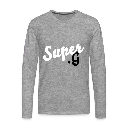 Super.G - Men's Premium Longsleeve Shirt