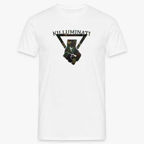 Killuminati Camouflage - Männer T-Shirt