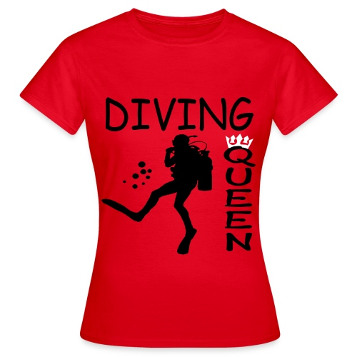 Diving Queen - Frauen T-Shirt