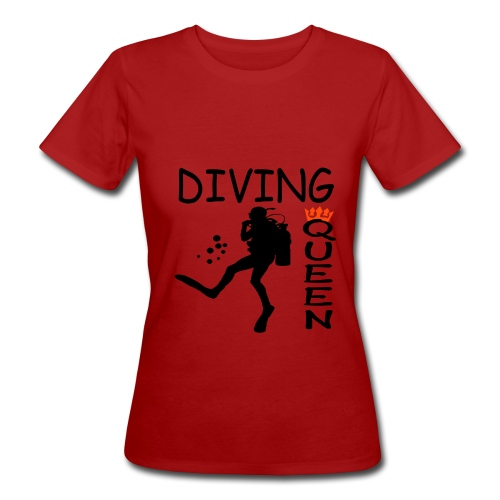 Diving Queen - Frauen Bio-T-Shirt