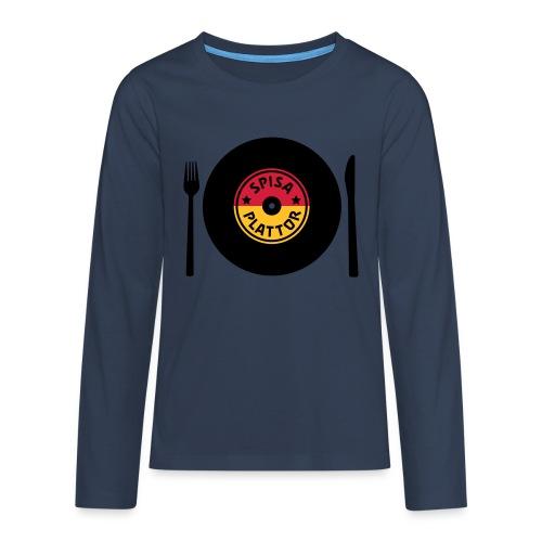 SPISA PLATTOR Långärmade T-shirts - Långärmad premium-T-shirt tonåring