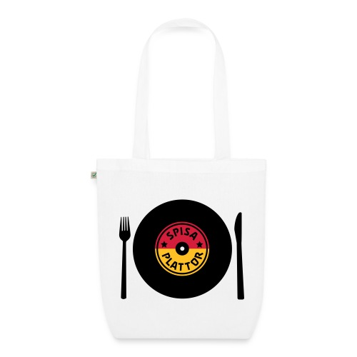 SPISA PLATTOR Väskor & ryggsäckar - Ekologisk tygväska