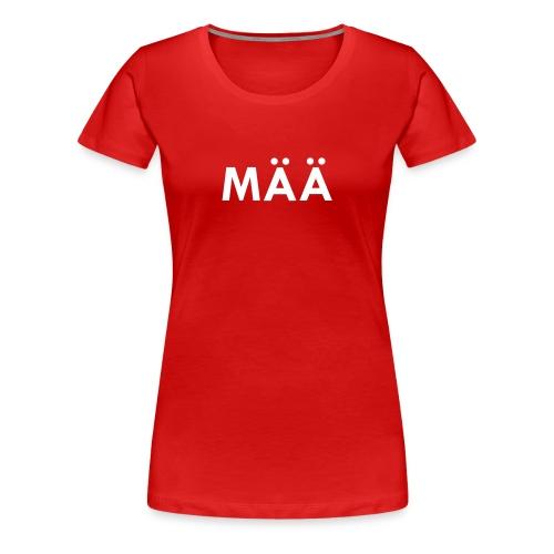 MÄÄ Dirndl klassisch - Frauen Premium T-Shirt