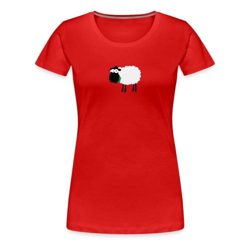 Schaf Dirndl klassisch - Frauen Premium T-Shirt