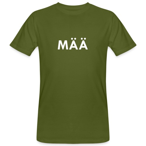 MÄÄ Bua klimaneutral - Männer Bio-T-Shirt