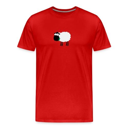Schaf Bua klassisch - Männer Premium T-Shirt