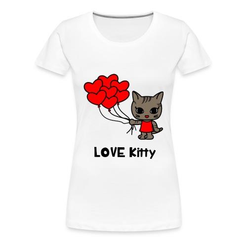LOVE Kitty - Frauen Premium T-Shirt