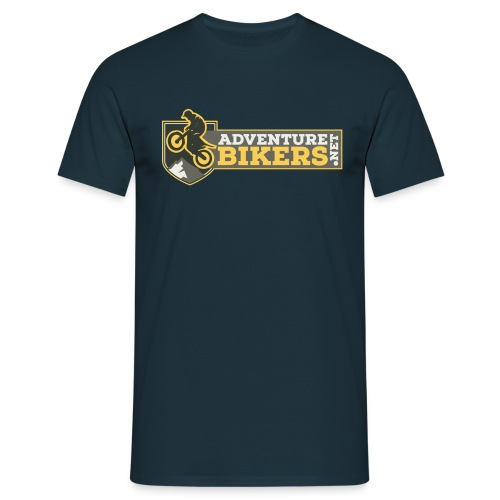 Adventure Bikers T Shirt - Chest Logo - Men's T-Shirt