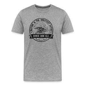 Nature is the greatest artist shirt - Men's Premium T-Shirt