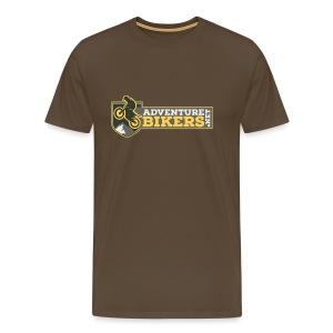 Adventure Bikers Premium T Shirt - Chest Logo - Men's Premium T-Shirt