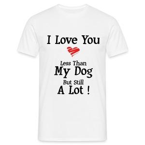 Love U less - T-shirt Homme