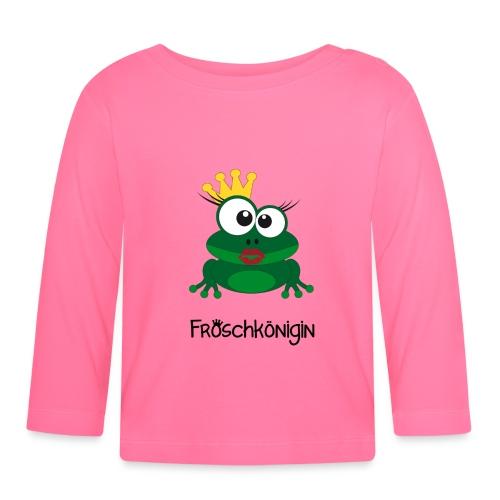 Baby Langarmshirt Froschkönigin - Baby Langarmshirt
