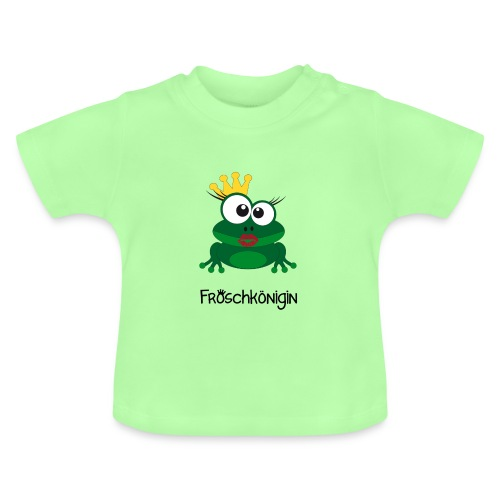 Babyshirt Froschkönigin - Baby T-Shirt