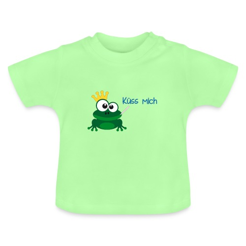 Babyshirt Küss mich - Baby T-Shirt