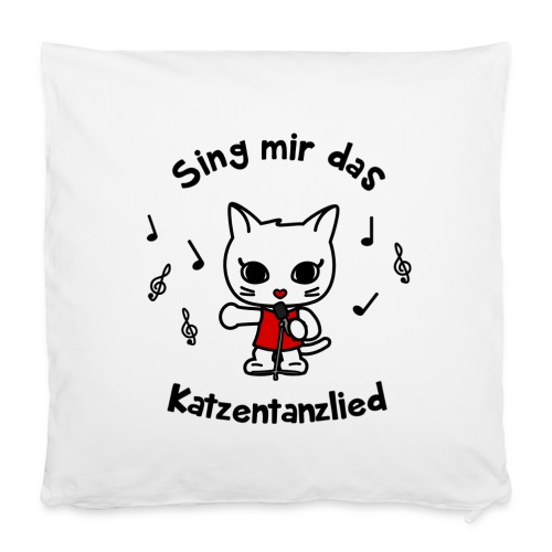 Sing mir das Katzentanzlied - Kissenbezug 40 x 40 cm