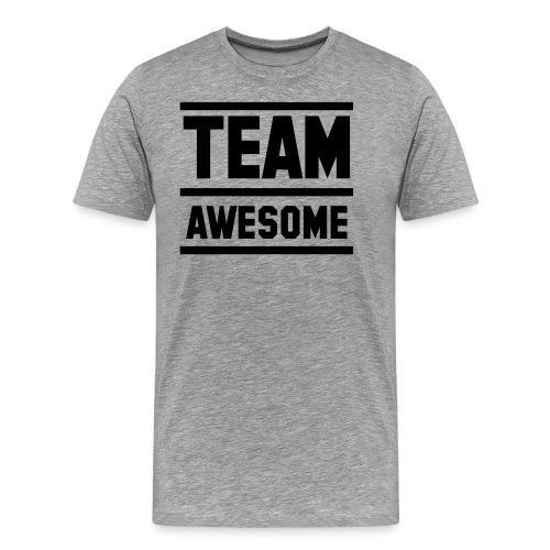 SWAGG MAN CREW T - SHIRT GRIS POUR HOMME - T-shirt Premium Homme