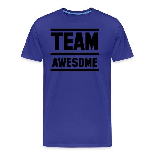 SWAGG MAN CREW T - SHIRT VIOLET POUR HOMME - T-shirt Premium Homme