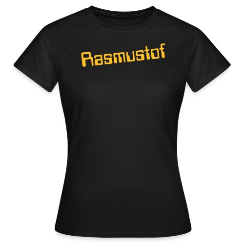 Women`s Rasmustof Text - Women's T-Shirt