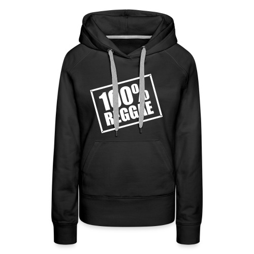 100% Reggae - Women's Premium Hoodie