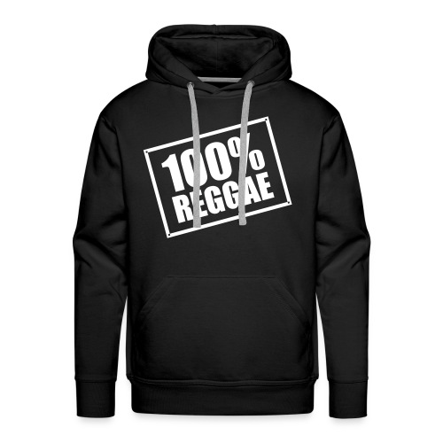 100% Reggae - Men's Premium Hoodie