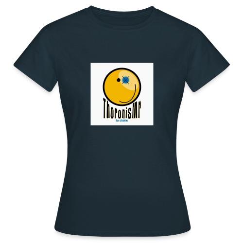 Tshirt Femme de la chaîne - T-shirt Femme