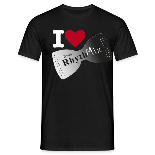 I Love TRMX schwarz - Männer T-Shirt