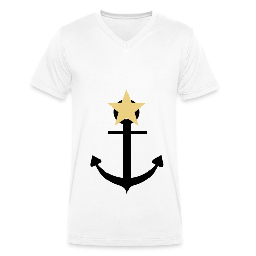 Hope T-shirt - T-shirt ecologica da uomo con scollo a V di Stanley & Stella