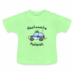 Nachwuchs Polizist Baby T-Shirt - Baby T-Shirt
