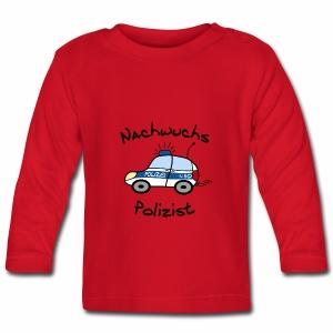 Nachwuchs Polizist Baby Langarmshirt - Baby Langarmshirt