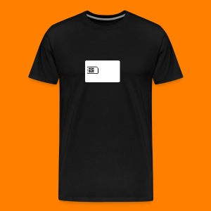 SIM card tee shirt - Men's Premium T-Shirt