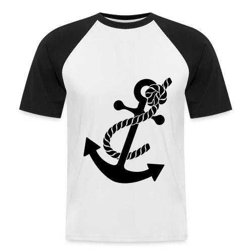 Men's Anchor Print Baseball T-Shirt - Men's Baseball T-Shirt