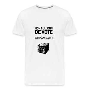 T-SHIRT premium homme européennes 2014 - T-shirt Premium Homme
