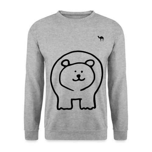 Men's Bear Print Sweater - Men's Sweatshirt