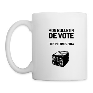 MUG européennes 2014 - Mug blanc