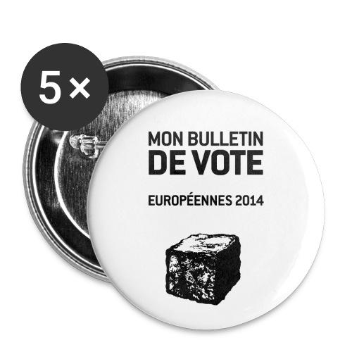BADGES européennes 2014 - Badge moyen 32 mm