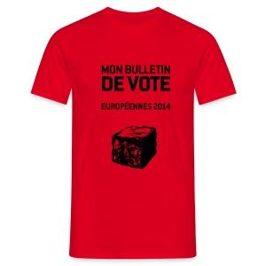 T-SHIRT standard homme européennes 2014 - T-shirt Homme
