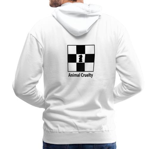 Animal cruelty - Sweat-shirt à capuche Premium pour hommes