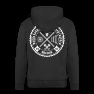 Pullover & Hoodies ~ Männer Premium Kapuzenjacke ~ Biker Motiv Hoddie Kapuzenjacke Rocker Style