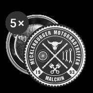 Buttons & Anstecker ~ Buttons klein 25 mm ~ Biker Pins Anstecker für Motorradfahrer