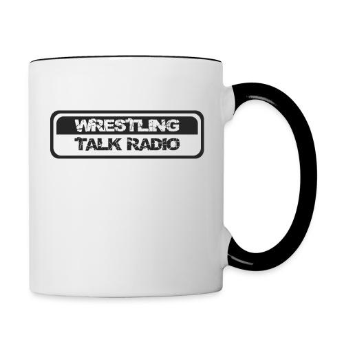 Tasse zweifarbig - Wrestling,WTR,Tschakka,Tasse,Podcast