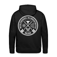 Pullover & Hoodies ~ Männer Premium Kapuzenpullover ~ Biker Motiv Hoddie Kapuzenpullover Rocker Style
