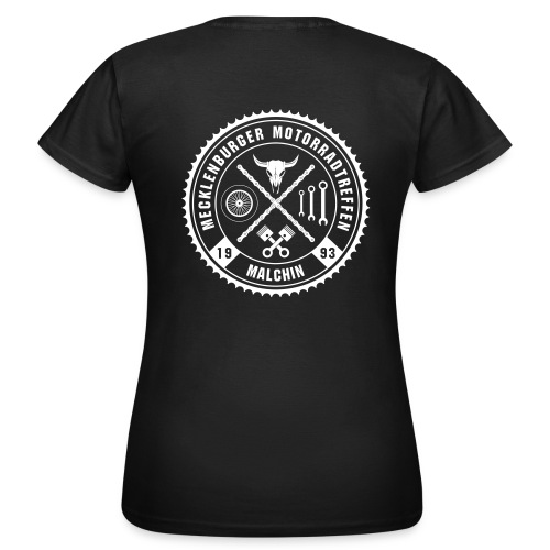 Biker Motiv T-Shirt für Frauen - Frauen T-Shirt