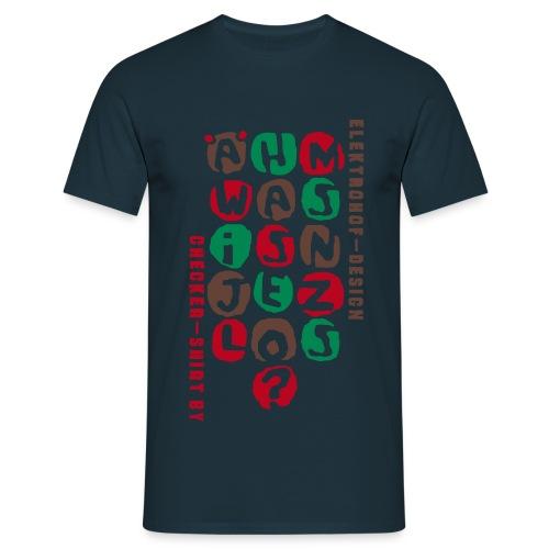 Ähm - Männer T-Shirt